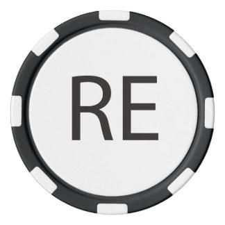 Respetos - o contestación - u hola Again.ai Juego De Fichas De Póquer