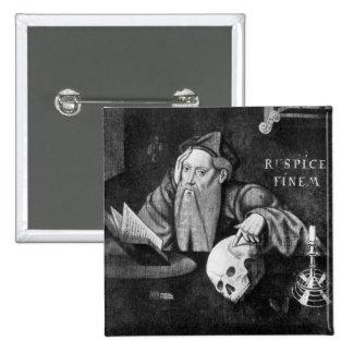 Respice Finem Pinback Button