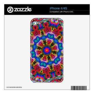 Respiración de la piel de encargo del diseño #018  calcomanías para el iPhone 4S