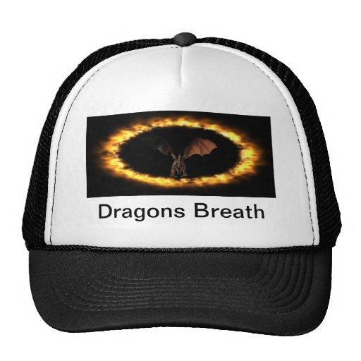 Respiración de los dragones gorros