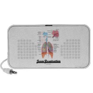 Respiración del equipo (sistema respiratorio) altavoces de viajar