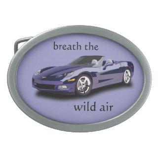 respiración el aire salvaje hebilla cinturon