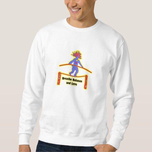 Respiración y amor de la balanza jersey