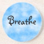 Respirar-práctico de costa posavasos diseño