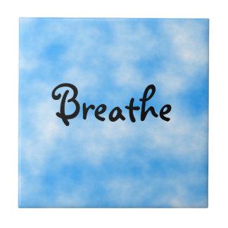 Respirar-teja Azulejo Cuadrado Pequeño