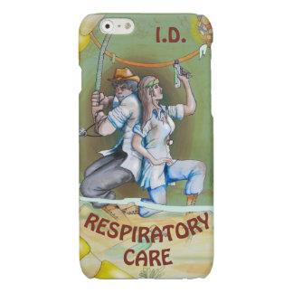 RESPIRATORY CARE ADVENTURE by Slipperywindow Glossy iPhone 6 Case