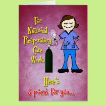 Respiratory Care Week Card