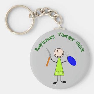 Respiratory Chick Keychain