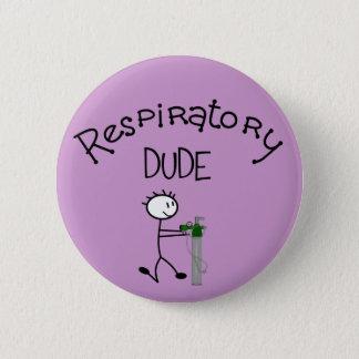 Respiratory DUDE T-Shirts & Gifs Pinback Button