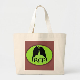 RESPIRATORY SIGNAL by Slipperywindow Large Tote Bag