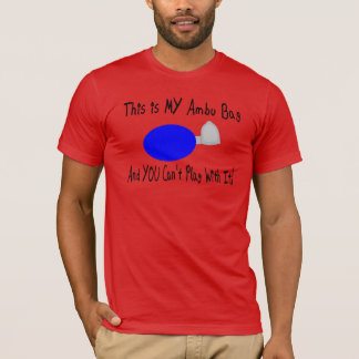 Respiratory Therapist Ambu Bag Humor T-Shirt