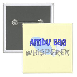 "Respiratory Therapist ""Ambu Bag Whisperer"" Pins"