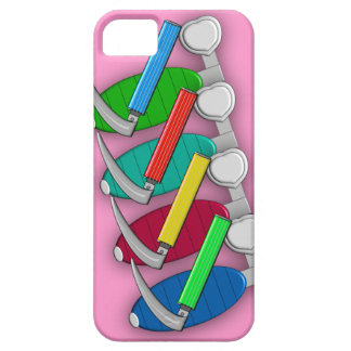 Respiratory Therapist Art iPhone 5 Case Pink