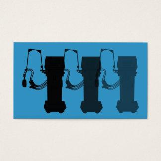 Respiratory Therapist Business Cards Ventilators