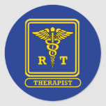 Respiratory Therapist Classic Round Sticker