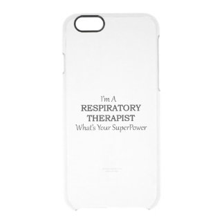 RESPIRATORY THERAPIST CLEAR iPhone 6/6S CASE