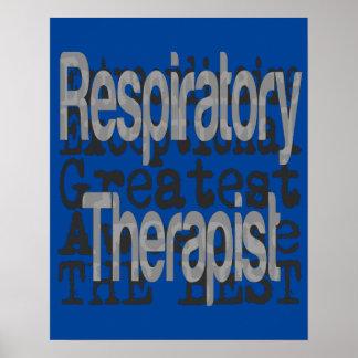 Respiratory Therapist Extraordinaire Poster