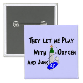 Respiratory Therapist Funny Gifts Pins