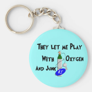 Respiratory Therapist Funny Gifts Keychain