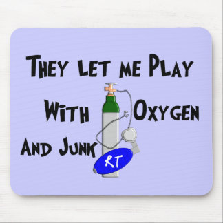 Respiratory Therapist Funny Gifts Mousepads