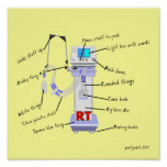 "Respiratory Therapist Funny Poster ""The Vent"""