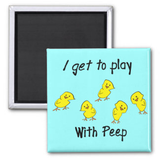 Respiratory Therapist Gifts--Hilarious 2 Inch Square Magnet