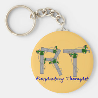 Respiratory Therapist Gifts O2 Tank Design Keychain