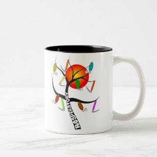 Respiratory Therapist Gifts Two-Tone Coffee Mug
