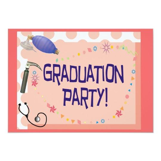 Respiratory Therapist Graduation Invitations – Zazzle Graduation Invitations