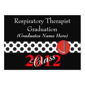 Respiratory Therapist Graduation Invitations 2012