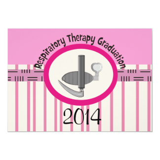 Respiratory Therapist Graduation Invitations 2014