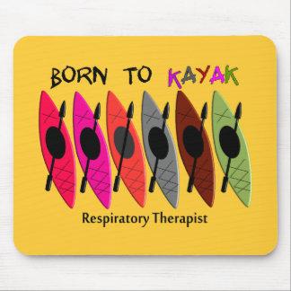 Respiratory Therapist Kayaker Gifts Mouse Pad