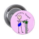 Respiratory Therapist O2 & Ambu Bag Design Pinback Button
