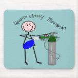 Respiratory Therapist O2 & Ambu Bag Design Mouse Pads