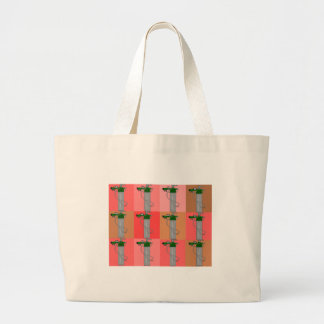 Respiratory Therapist Pink Popart Gifts Large Tote Bag