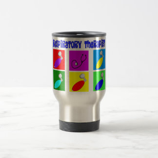 Respiratory Therapist Pop Art Design Gifts 15 Oz Stainless Steel Travel Mug