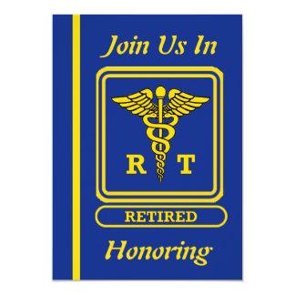 Respiratory Therapist Retirement Invitation