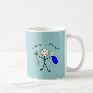 Respiratory Therapist Stick Person Coffee Mug