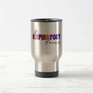 Respiratory Therapist Stickman Gifts Travel Mug