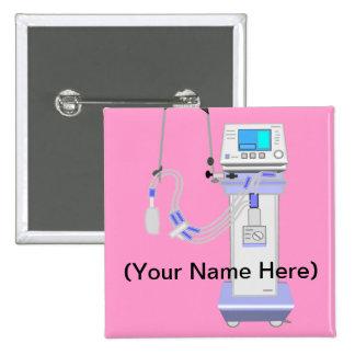 Respiratory Therapist Ventilator Design Pins