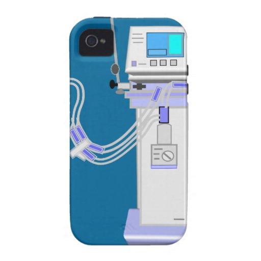 Respiratory Therapist Ventilator Design iPhone 4/4S Cases
