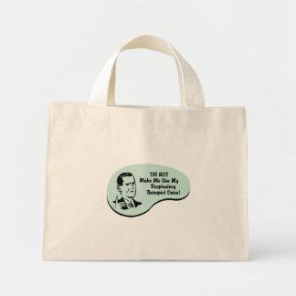 Respiratory Therapist Voice Tote Bags