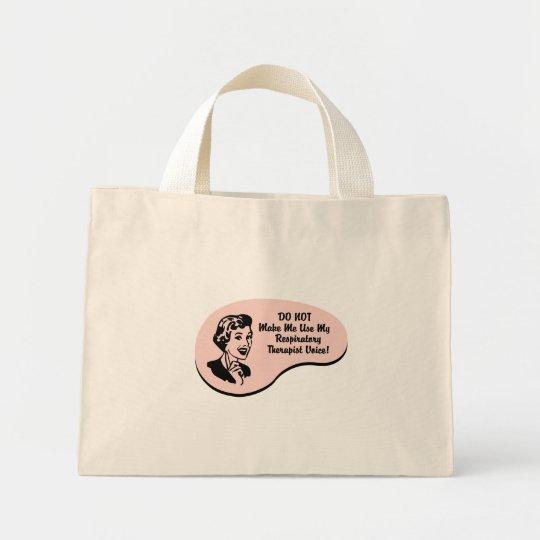 Respiratory Therapist Voice Mini Tote Bag