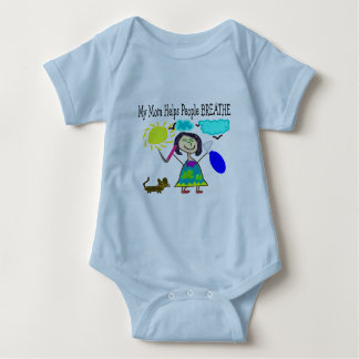 Respiratory Therapists Childrens Gifts Baby Bodysuit