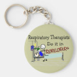 Respiratory Therapists do it in Trendelenburg Keychain