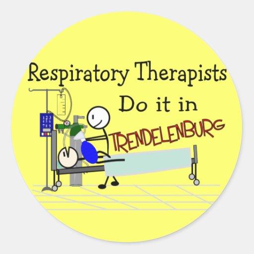 Respiratory Therapists do it in Trendelenburg Sticker