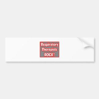 Respiratory Therapists Rock! Car Bumper Sticker