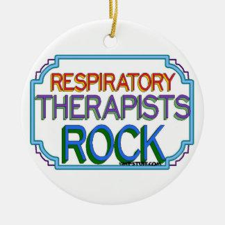 Respiratory Therapists Rock Christmas Ornaments
