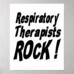 Respiratory Therapists Rock! Poster Print