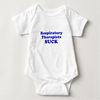 Respiratory Therapists Suck Baby Bodysuit